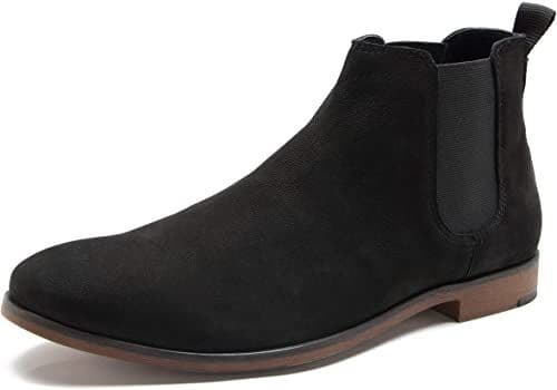 Red Tape - Braxted Black Chelsea Boots